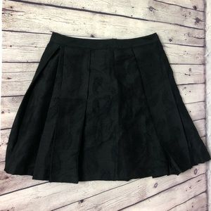 Club Monaco Pleated Skirt w/ Paisley Print